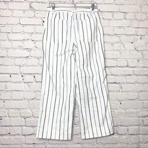 Madewell Jeans - Madewell   Emmett Wide-Leg Crop Stripe NWT   28